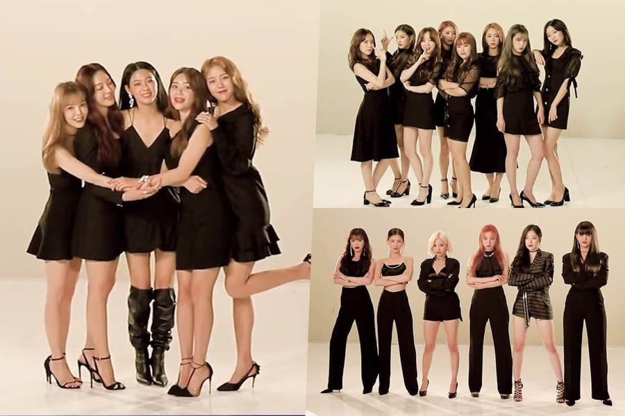 """Watch: AOA, (G)I-DLE, And Lovelyz Display Contrasting Charms In Poster Shoot For """"Queendom"""""""