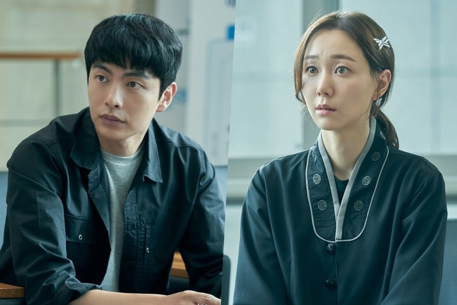 "Lee Min Ki And Lee Yoo Young Meet For The 1st Time In ""The Lies Within"""