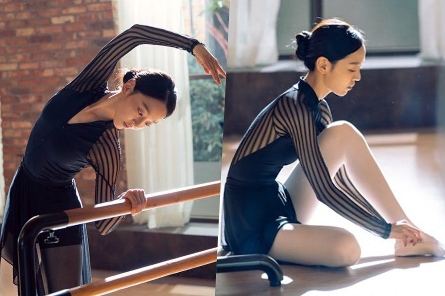 "Shin Hye Sun Perfectly Transforms Into An Elegant Ballerina For ""Angel's Last Mission: Love"""