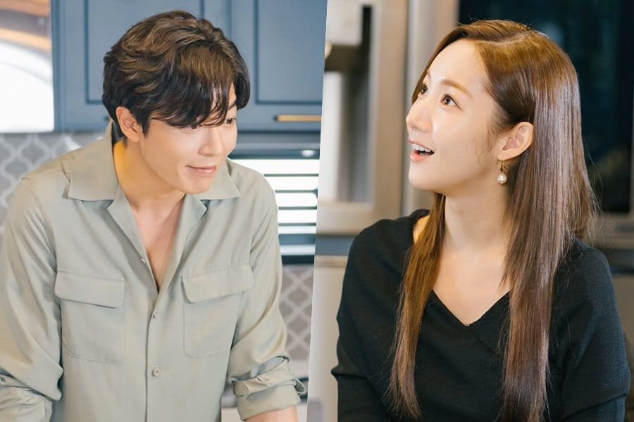 "Kim Jae Wook Attempts To Cook A Delicious Meal For Park Min Young In ""Her Private Life"""