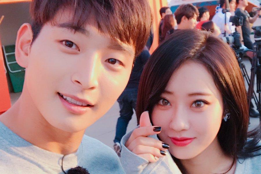 Jeong Jinwoon Tearfully Thanks Girlfriend Kyungri