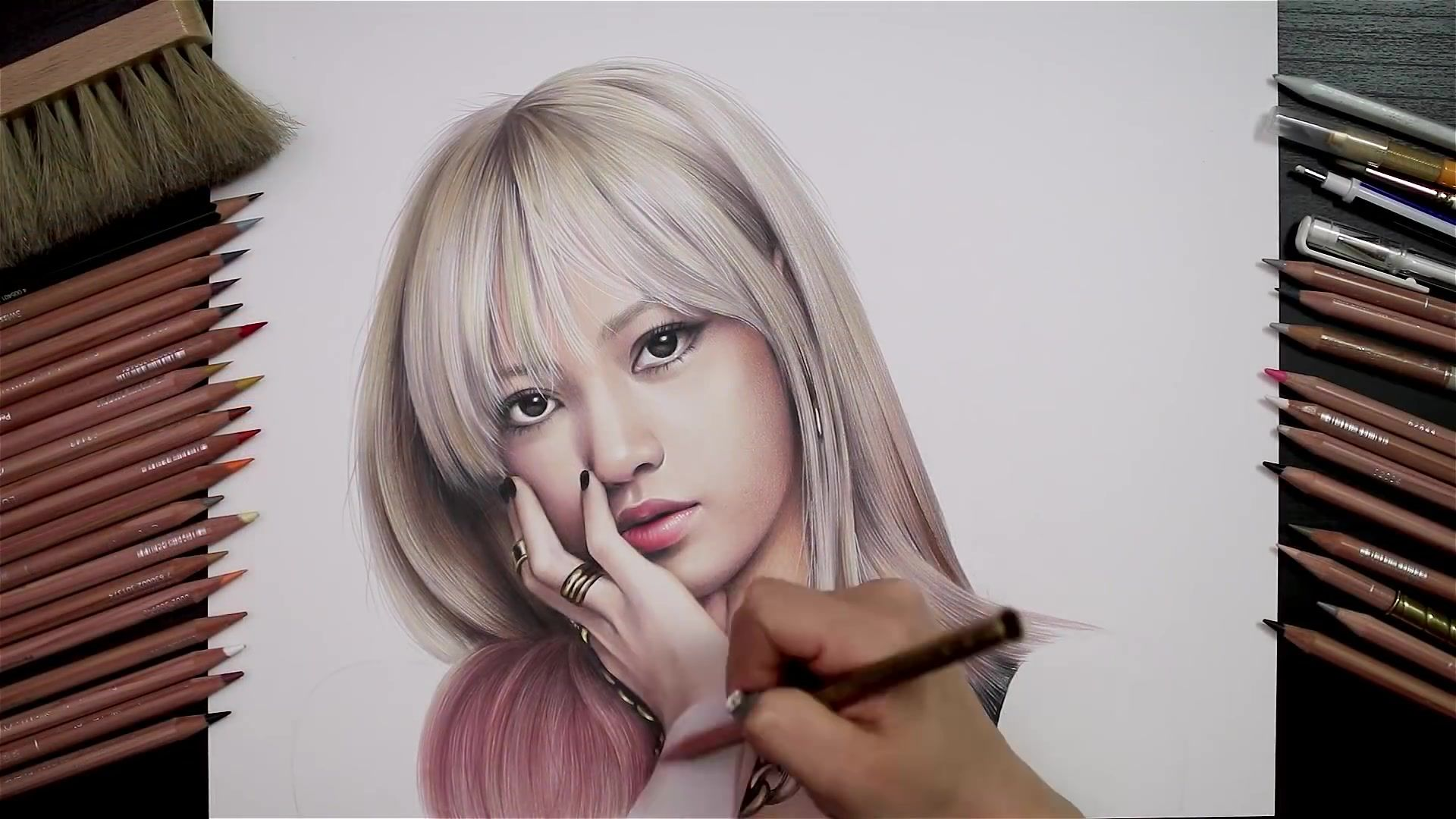 Drawing Hands Episode 77 Speed Drawing Blackpink S Lisa Watch