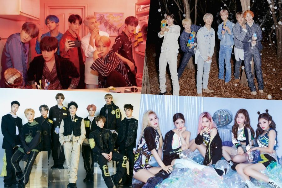 BTS, NCT Dream, NCT 127, ITZY, And More Take High Ranks On Billboard's World Albums Chart