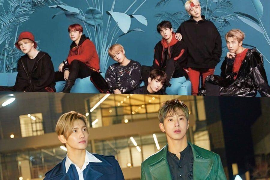 """""""Face Yourself"""" de BTS se convierte en doble platino en Japón + """"Jealous"""" de TVXQ recibe la certificación de oro"""