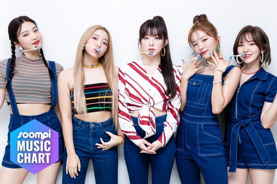 """Red Velvet's """"Umpah Umpah"""" Rises To No. 1; Soompi's K-Pop Music Chart 2019, September Week 1"""