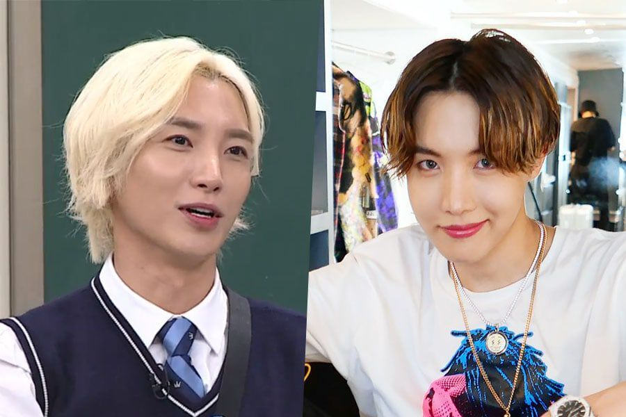 Super Junior's Leeteuk Talks About His Surprising Connection With BTS's J-Hope