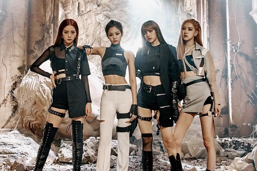 BLACKPINK Becomes First K-Pop Girl Group To Be On UK's Official Singles Chart Top 100 For 3 Consecutive Weeks