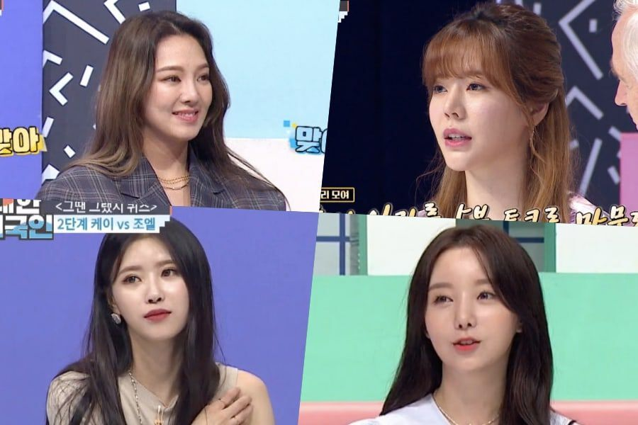 Hyoyeon And Sunny Share Advice With Lovelyz's Mijoo And Kei, Talk About Girls' Generation's Rules, And More