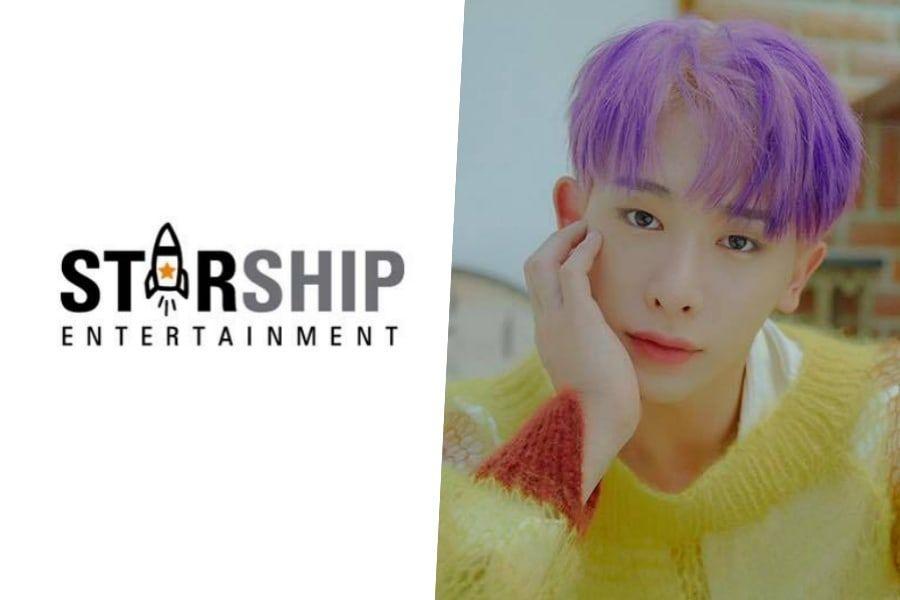 Starship Entertainment Denies Rumor About MONSTA X's Wonho + Considering Legal Action