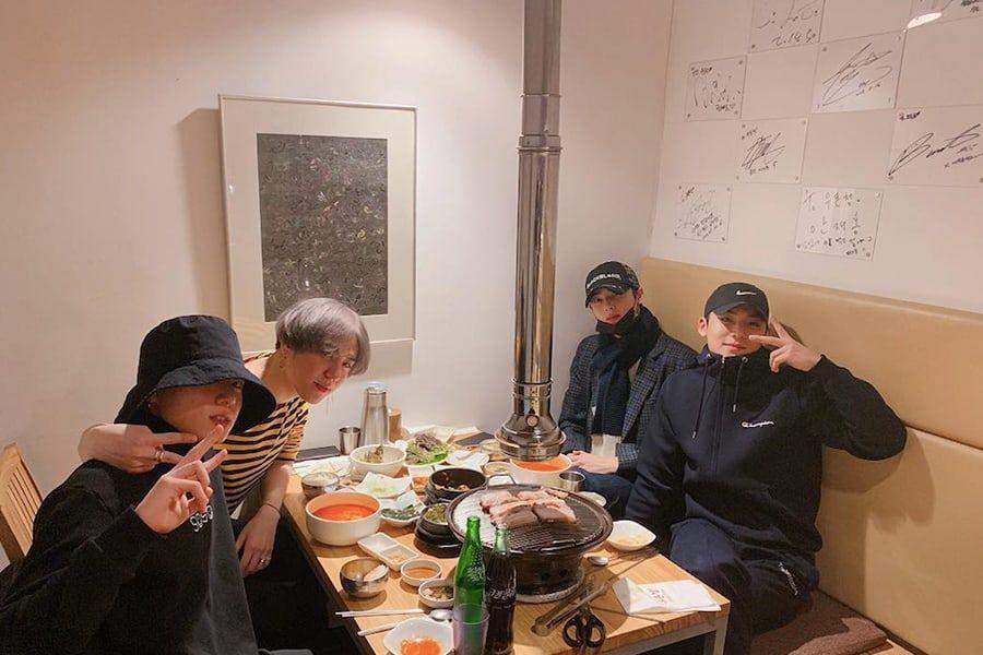 Mingyu Shares Photos Of Fun Hangout With Jungkook, Yugyeom