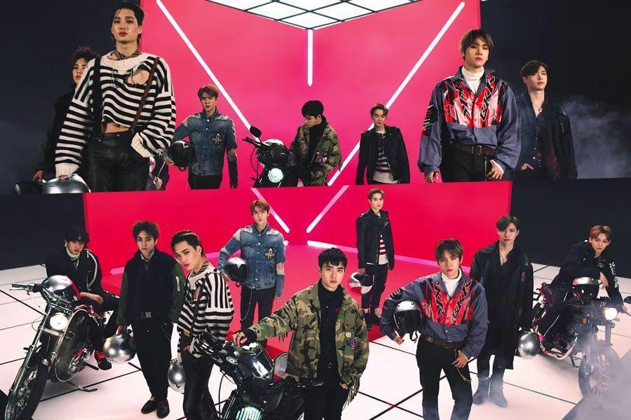 EXO Rilis 'Tempo', Kalahkan Rekor Penonton Video Klip Sendiri