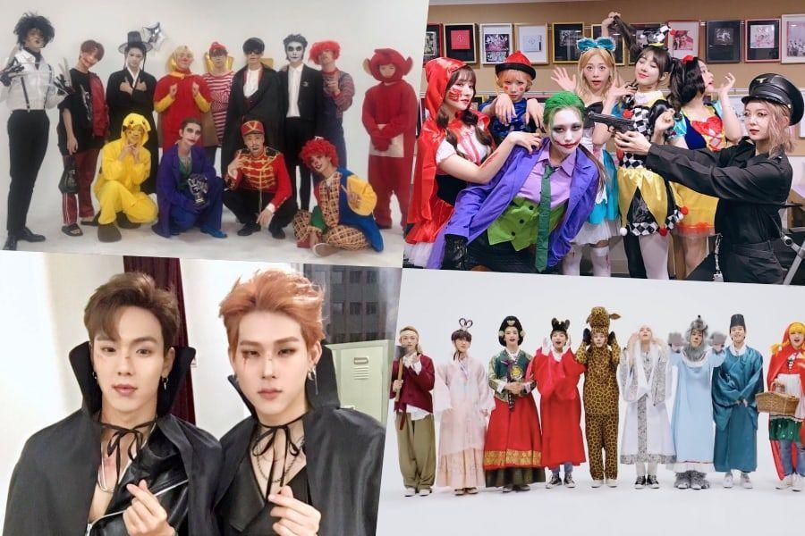 K-Pop Idols Celebrate Halloween With Spooky And Creative Fun