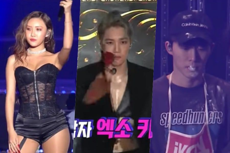 SBS Shares Stories Behind Performances By MAMAMOO's Hwasa, EXO's Kai, And iKON's B.I At 2018 SBS Gayo Daejeon