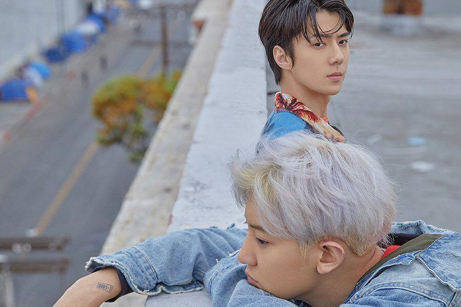 """EXO-SC Tops Worldwide Trends On Twitter As Fans React To Debut MV """"What A Life"""""""