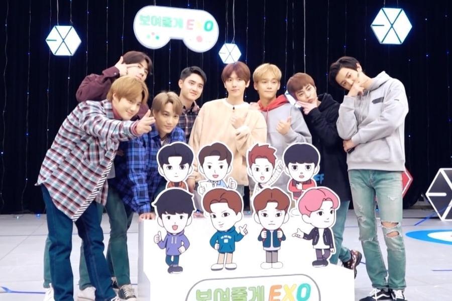 SOOMPI) EXO Shares Sneak Peek Of Fun Game Night In