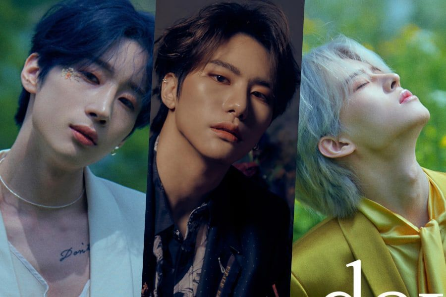 "Update: VICTON's Seungwoo, Seungsik, And Subin Captivate In Bright And Dark Teasers For ""Mayday"" Comeback"