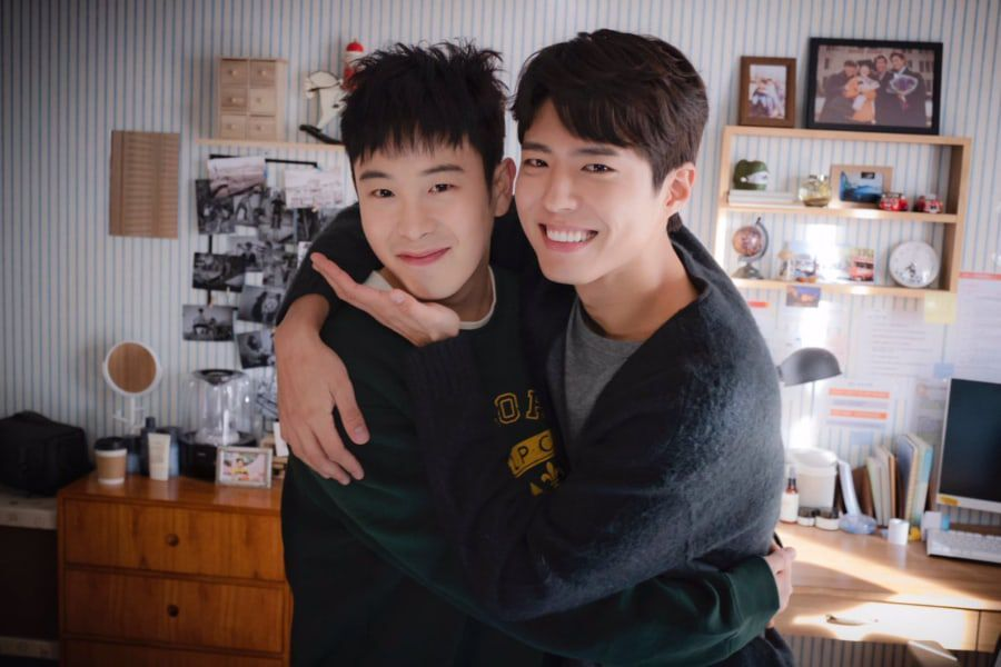 """Park Bo Gum And Block B's P.O Are Like Real Brothers On The Set Of """"Encounter"""""""