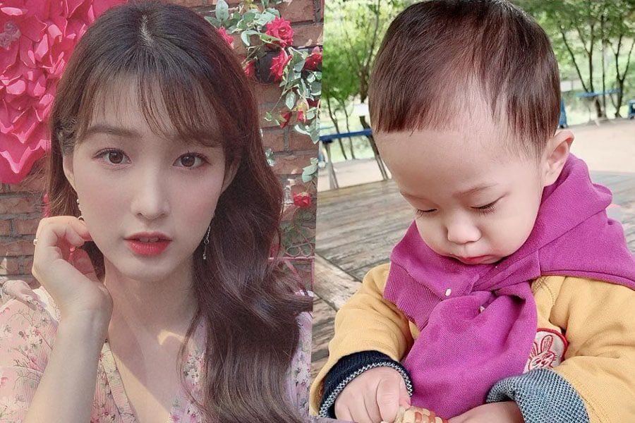 Yulhee Shares Adorable Photos Of Her And Minhwan's Son Jaeyul