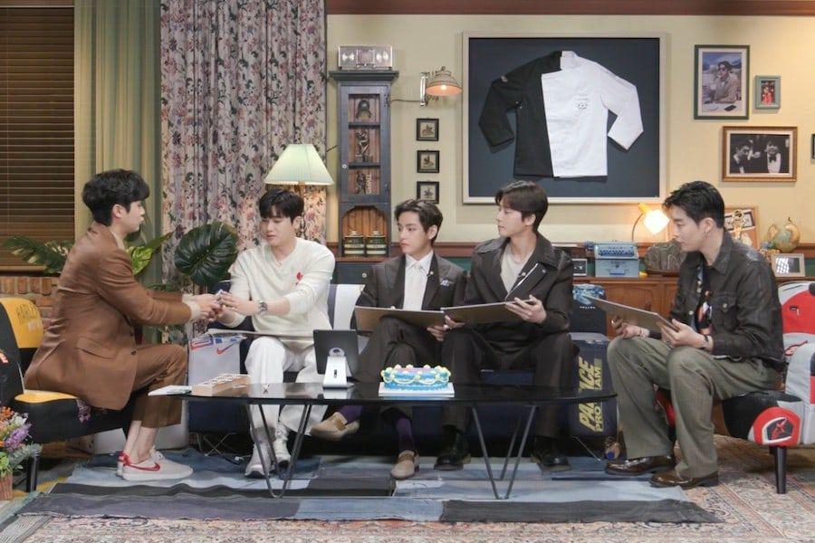 Park Seo Joon, BTS's V, Park Hyung Sik, And Peakboy Make Special Appearance At Choi Woo Shik's Fan Meeting