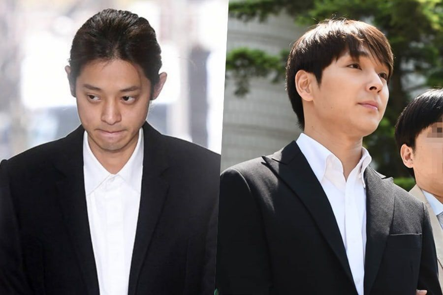 Jung Joon Young And Choi Jong Hoon Apologize + Continue To Deny Aggravated Rape Charges At 1st Official Trial
