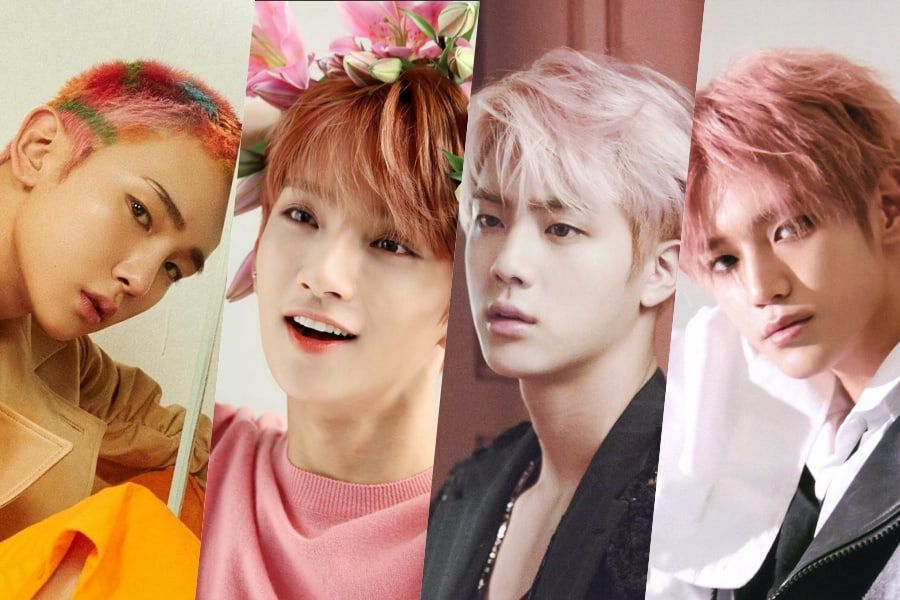 8 Male K-Pop Idols Who Prove That Pink Is For Everyone