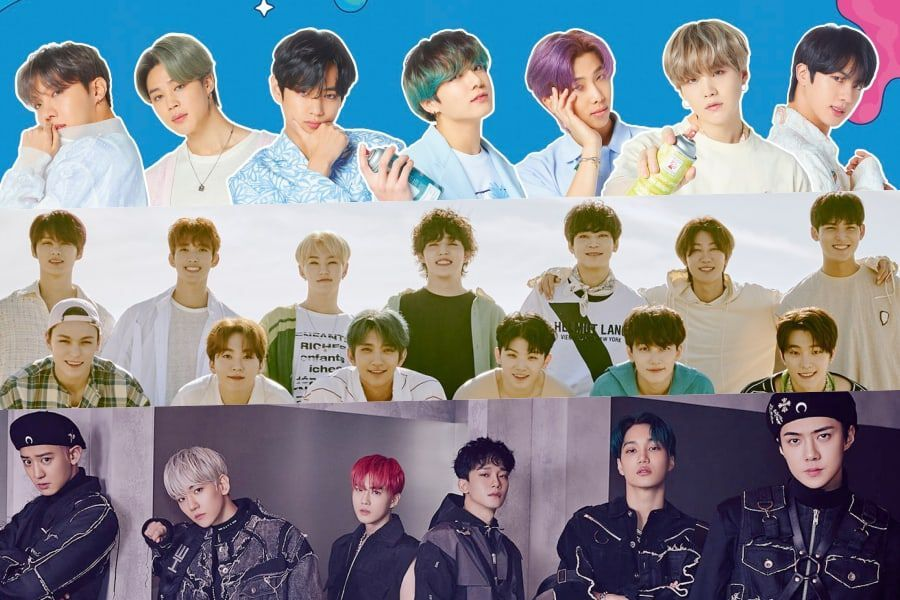 July Boy Group Brand Reputation Rankings Announced