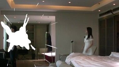 Exclusive Behind the Scenes - Wallace Huo kisses Sandra Ma: Love Me If You Dare