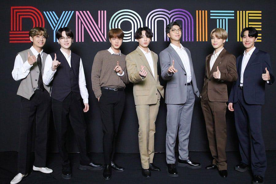 BTS gana en los 2020 MTV Video Music Awards Japan