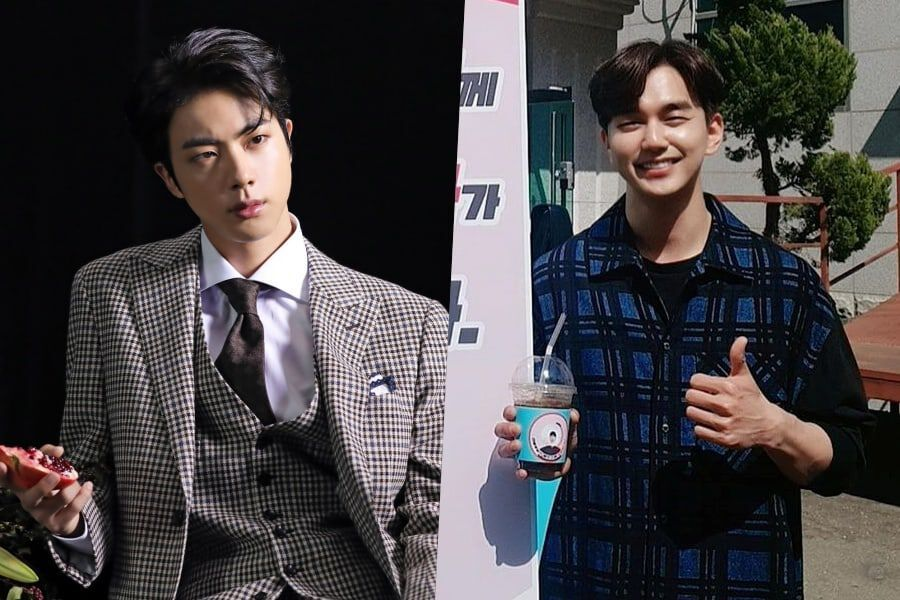 """BTS's Jin Shows Support For Yoo Seung Ho And His Drama """"Memorist"""""""