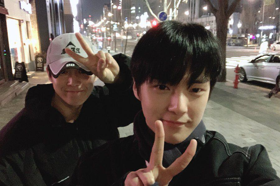 SF9's Dawon And MONSTA X's Minhyuk Share Cute Photos From Meet-Up Together