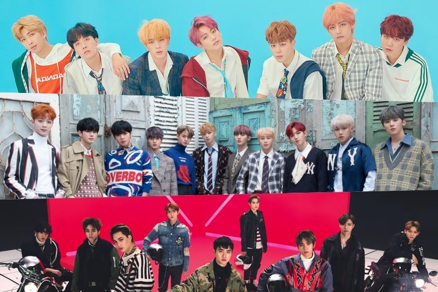 December Boy Group Brand Reputation Rankings Announced