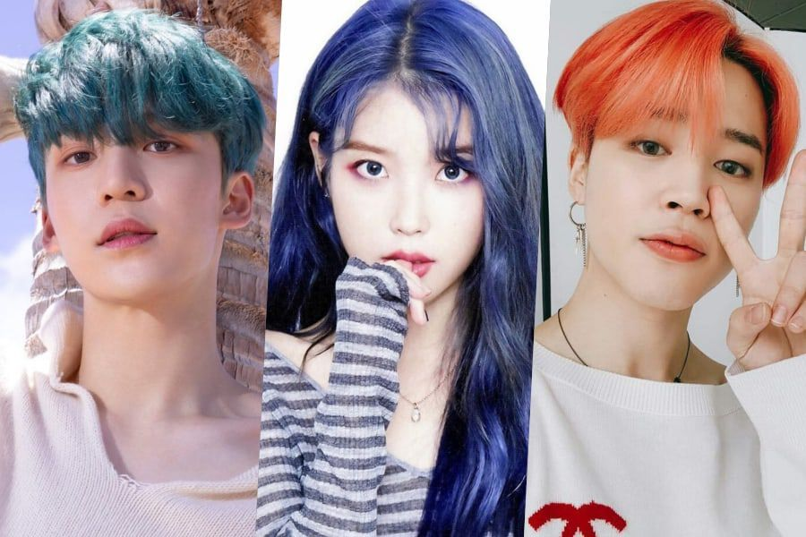 Phenomenal New Decade New Hair 10 Hair Colors Idols Rocked In 2019 That You Schematic Wiring Diagrams Amerangerunnerswayorg