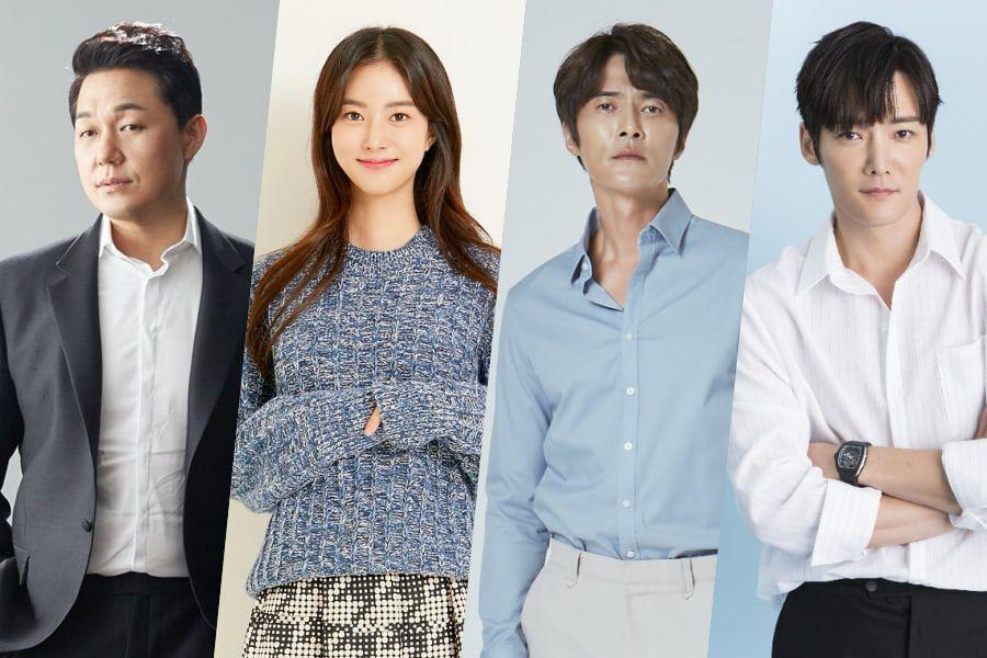 Park Sung Woong, Han Ji Wan, And Jo Dong Hyuk Confirmed To Star In Choi Jin Hyuk's Upcoming OCN Drama