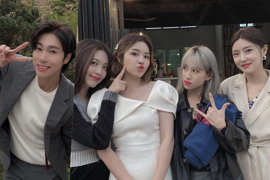Former GOOD DAY Leader Heejin Gets Married; TVXQ's Yunho And Other Stars Attend Wedding