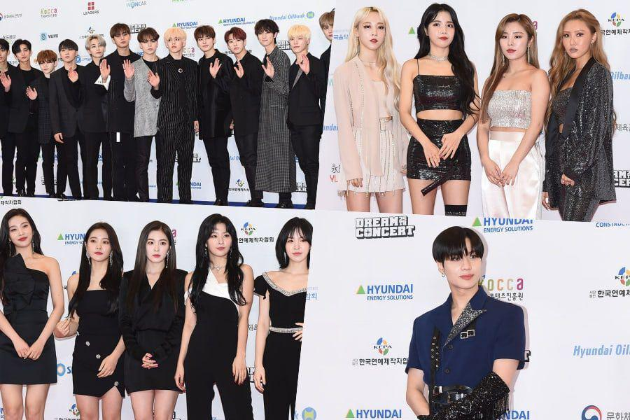 K-Pop Stars Light Up The Red Carpet At 2019 Dream Concert