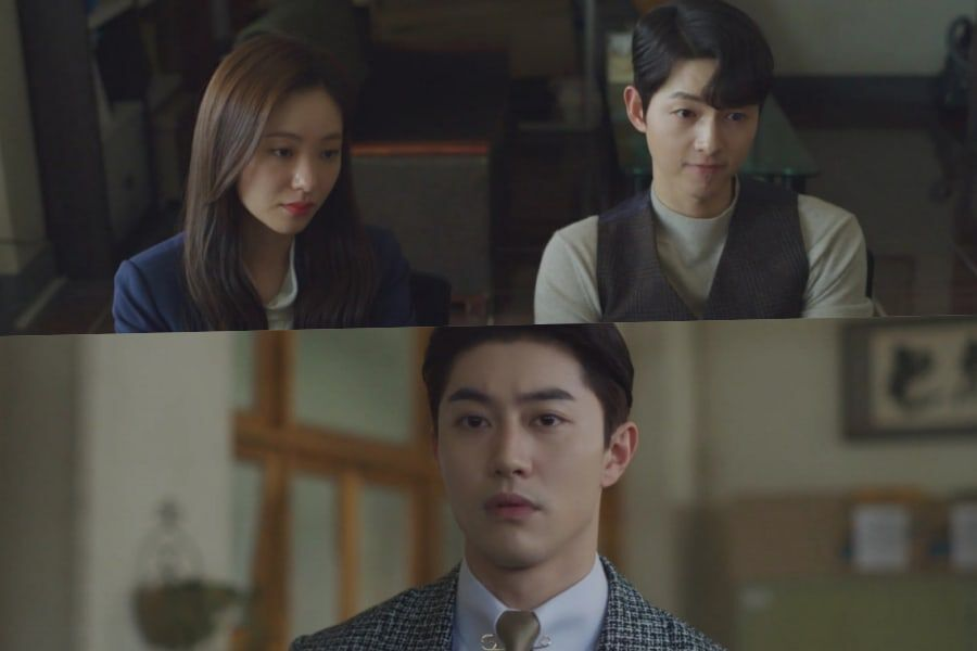 """Kwak Dong Yeon Has An Interesting Offer For Song Joong Ki And Jeon Yeo Bin In """"Vincenzo"""""""