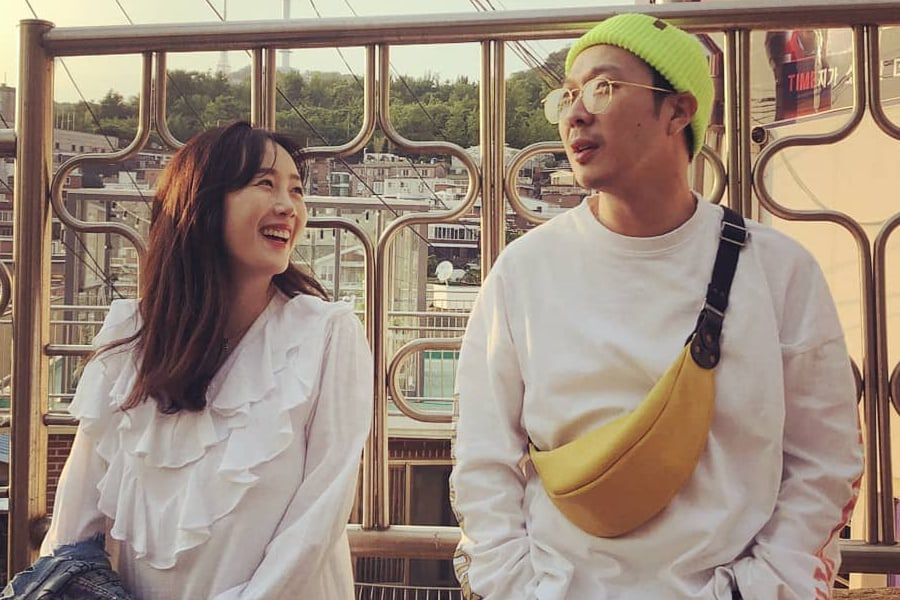 Byul Shares Lovely Photos Of Her Day With HaHa And Adds Sweet Message About Their Relationship