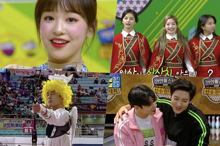 "Results For Day 1 Of ""2019 Idol Star Athletics Championships – New Year Special"""