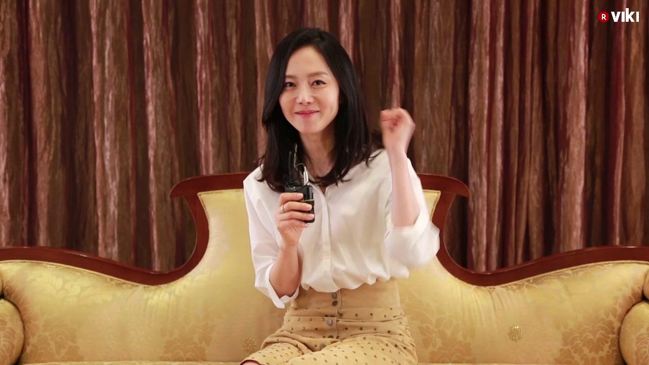 Yum Jung Ah's Shoutout to the channel team: El Espejo de la Bruja