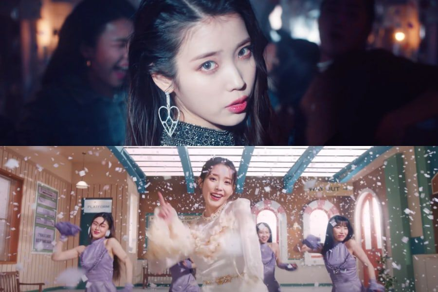 "Watch: IU Says Hello To Spring In Funky And Energetic ""LILAC"" Comeback MV"