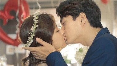 Romantic Kiss Between Won and Ha Na: The Time I've Loved You