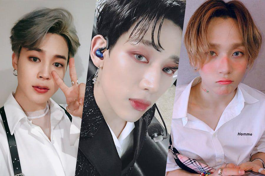 Boy-Beauty Inspo From 8 Male K-Pop Idols Who Rock Makeup