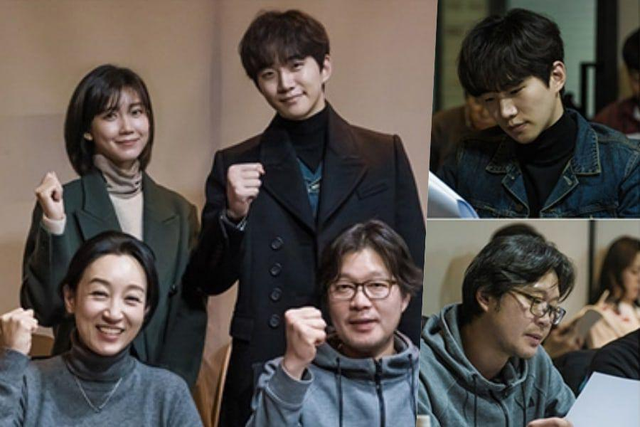 "2PM's Junho's New tvN Drama ""Confession"" Holds 1st Script"