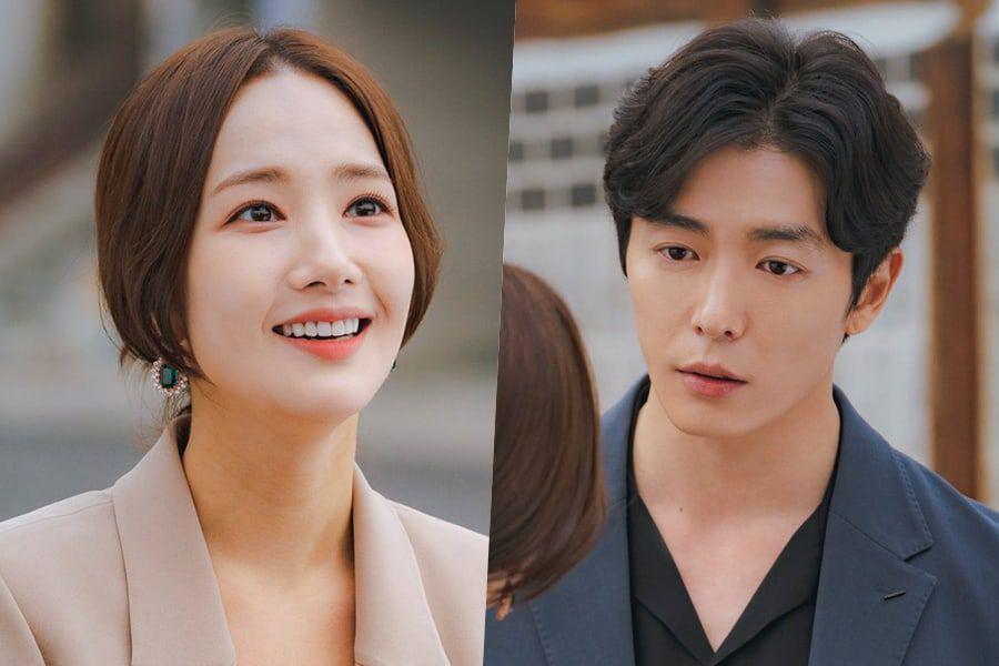"""""""Her Private Life"""" Shares Gorgeous Behind-The-Scenes Photos Of Park Min Young And Kim Jae Wook"""