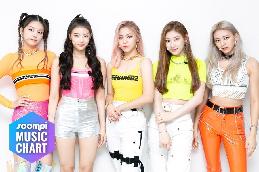 """ITZY Maintains No.1 Spot With """"ICY""""; Soompi's K-Pop Music Chart 2019, August Week 4"""