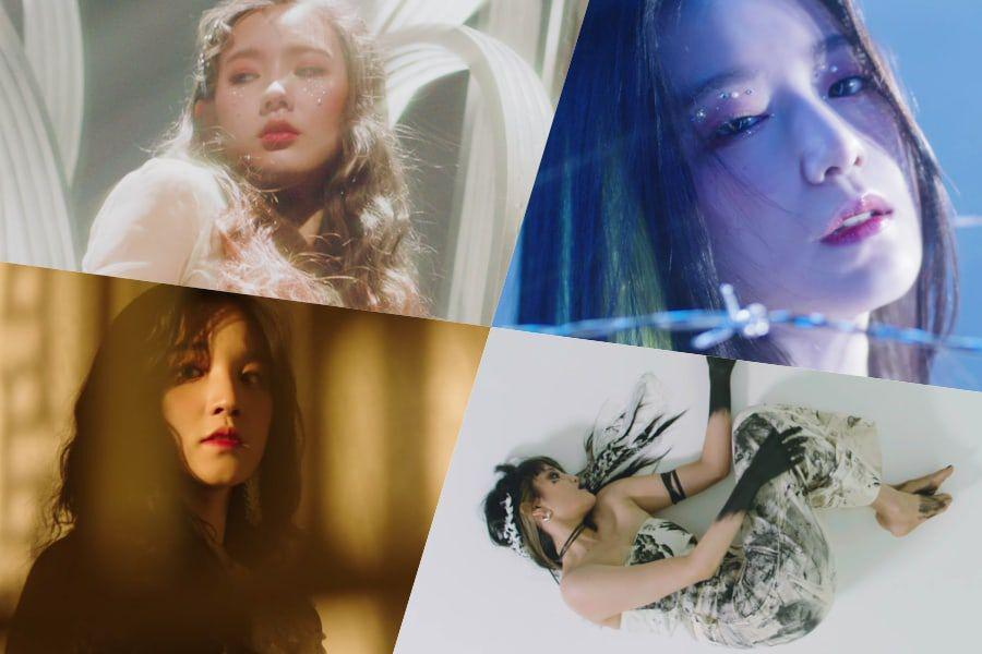 """Update: (G)I-DLE Previews Stunning Visuals In """"Oh My God"""" MV ..."""