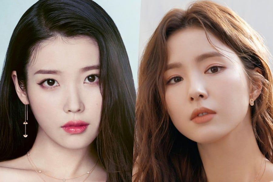 IU Sweetly Welcomes New Labelmate Shin Se Kyung To EDAM Entertainment