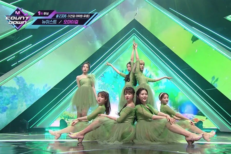 "Imagini pentru OH MY GIRL: ""The Fifth Season"" on M! Countdown"