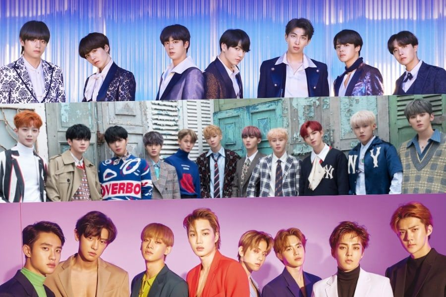 January Boy Group Brand Reputation Rankings Announced