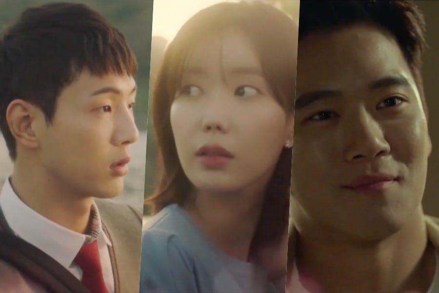 KOLASE Ji Soo, Im Soo Hyang, dan Ha Seok Jin dalam teaser drama 'When I Was The Prettiest'